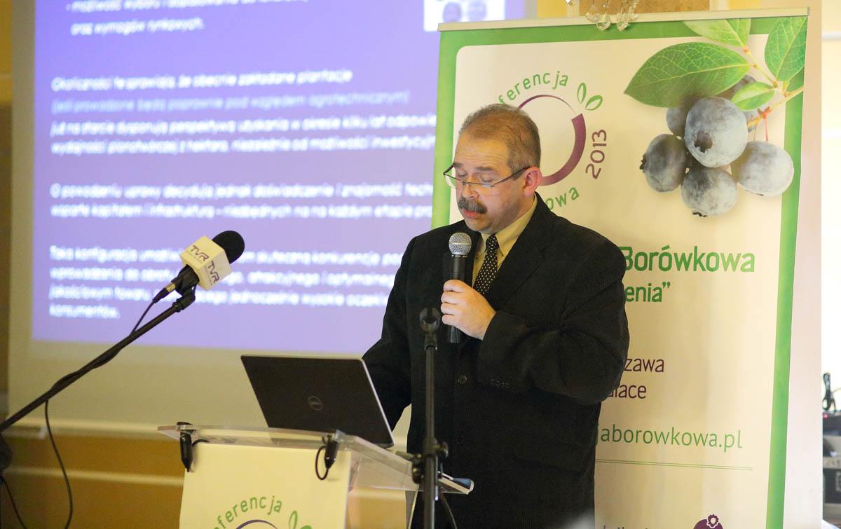 bohdan koziński, odmiany borówki amerykańskiej, konferencja borówkowa