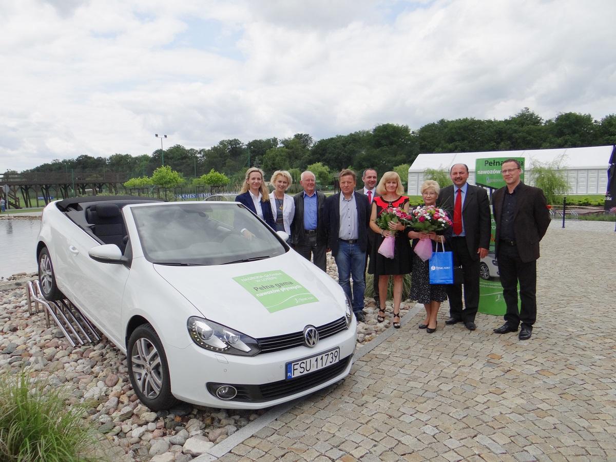 """""""Pełna gama nawozów płynnych"""" zorganizowanej przez Timac Agro Polska, w której główną nagrodą był Volkswagen Golf Cabrio!"""